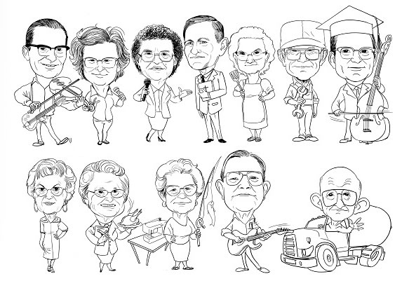 MyCaricature – Custom Caricatures From Photographs: Black and White